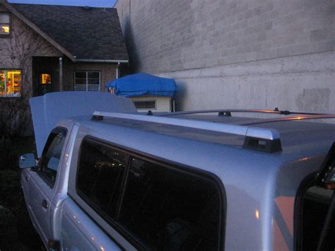 Diy Roof Rack Around Camper Shell
