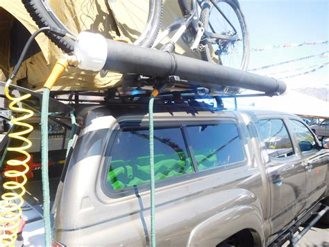 Diy Roof Rack Solar Shower Pictures