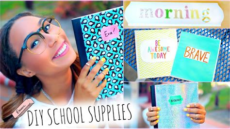 Diy Room Decor Youtube School Supplies