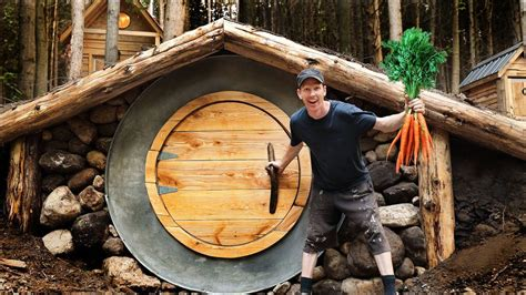Diy Root Cellar In Mountain Off Grid Cabin