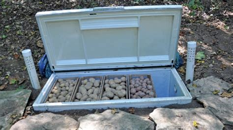 Diy Root Cellar Made From Old Chest Freezer