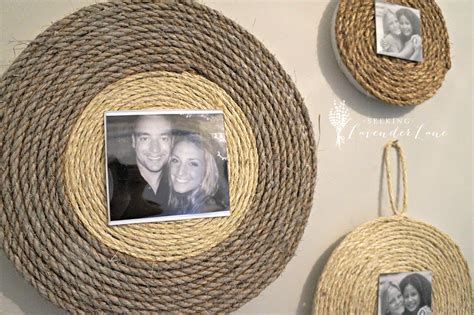 Diy Rope Picture Frame