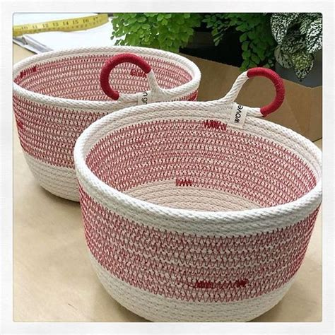 Diy Rope Storage Basket