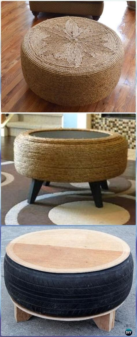 Diy Rope Tire Table