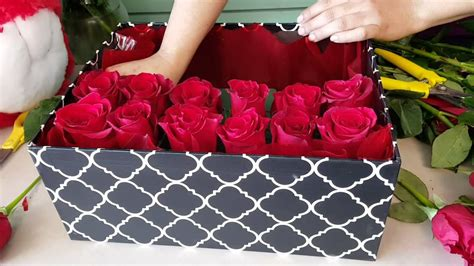 Diy Rose Flower Box
