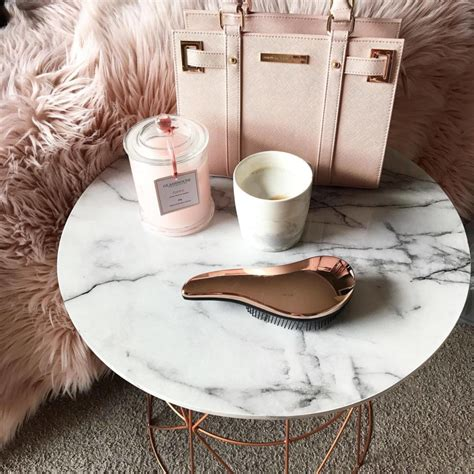 Diy Rose Gold Coffee Table