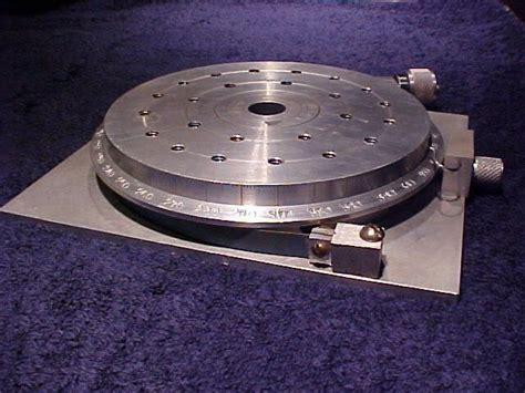 Diy Rotary Table Indexering