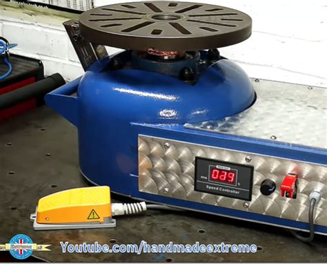 Diy Rotating Welding Table