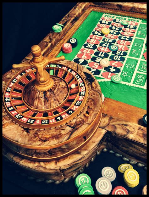 Diy Roulette Table Cake