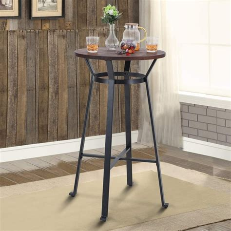 Diy Round Bar Dinette Table
