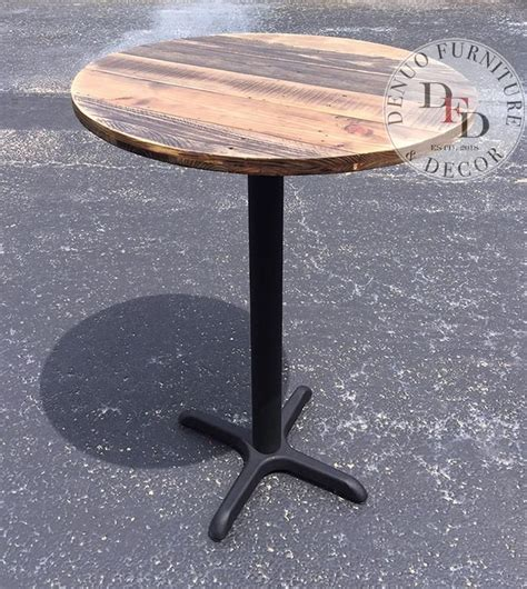 Diy Round Bistro Table