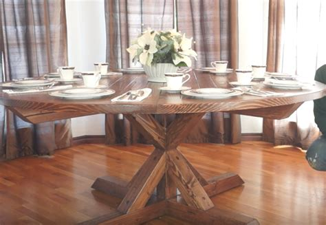 Diy Round Dining Table Ideas
