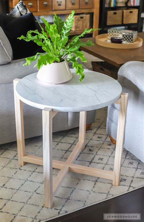 Diy Round Marble Table