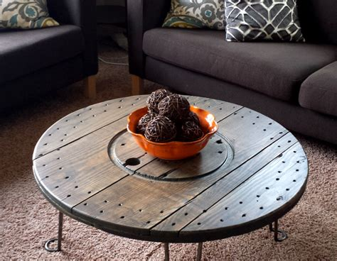 Diy Round Metal Coffee Table