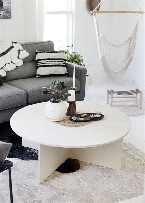 Diy Round Plywood Table