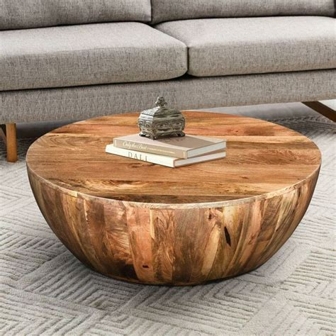 Diy Round Solid Wood
