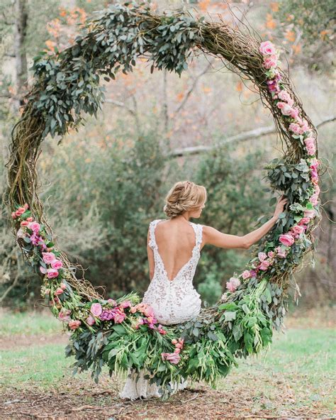 Diy Round Swing For Weddings