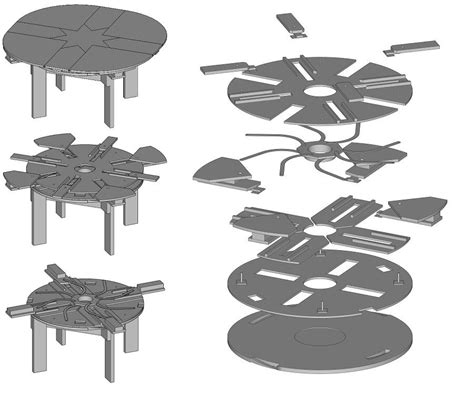 Diy Round Table That Expands