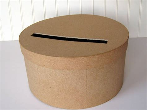 Diy Round Wedding Card Box
