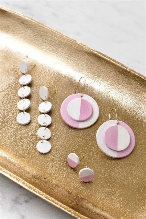 Diy Round Wood Disc For Earrings