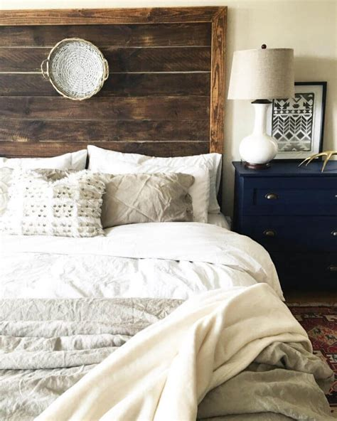 Diy Rounded Headboard Farmhouse Bedding