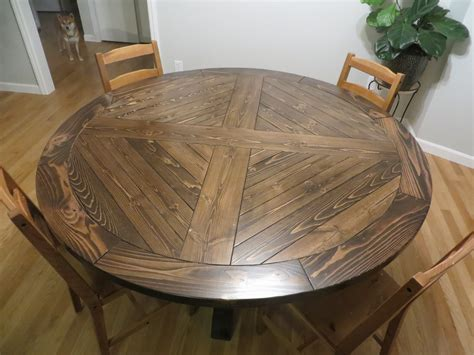 Diy Roung Dining Table
