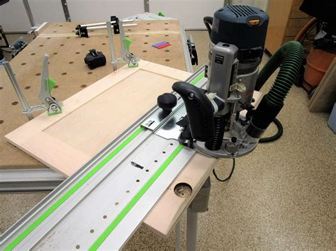 Diy Router Base For My Festool Rip Guide