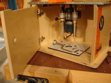 Diy Router Table Lift