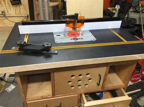 Diy Router Tool Table Cloth