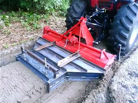 Diy Row Hiller Bed Shaper For Tractor