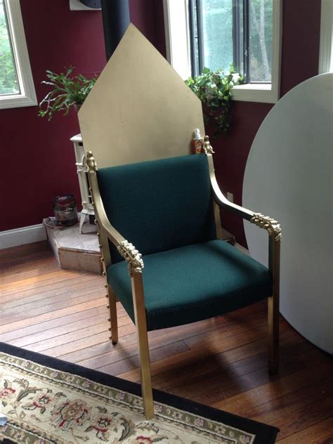 Diy Royal Throne Chair