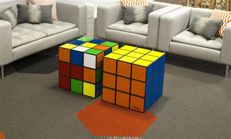 Diy Rubiks Cube Coffee Table