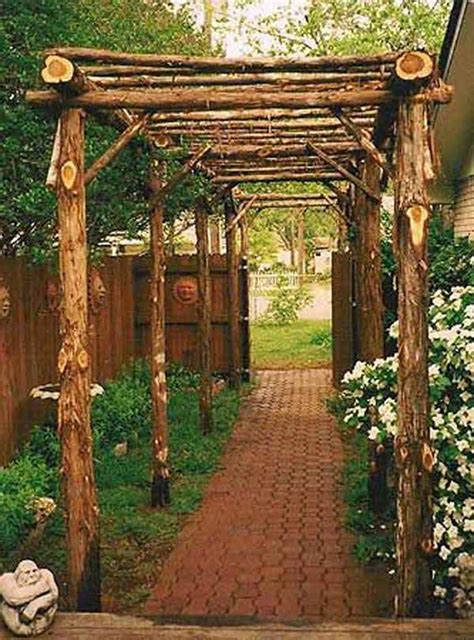 Diy Rustic Arbors