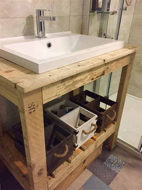 Diy Rustic Bathroom Sinks