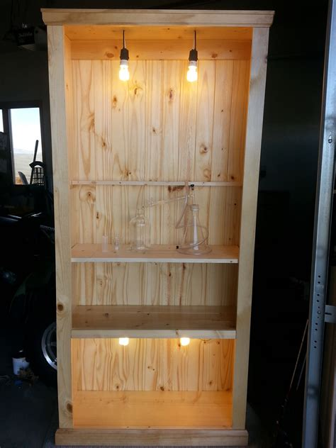 Diy Rustic Bookshelves