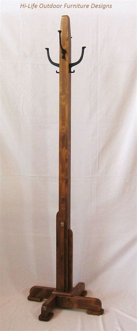 Diy Rustic Coat Tree