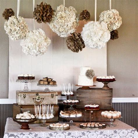 Diy Rustic Dessert Table