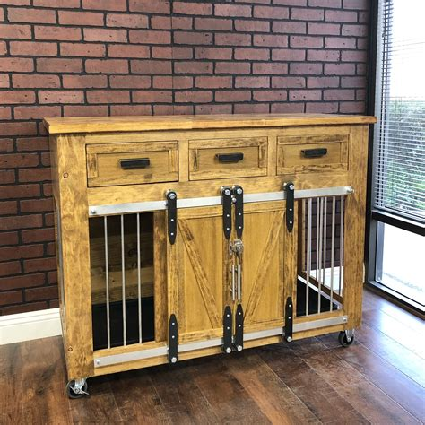 Diy Rustic Dog Crates