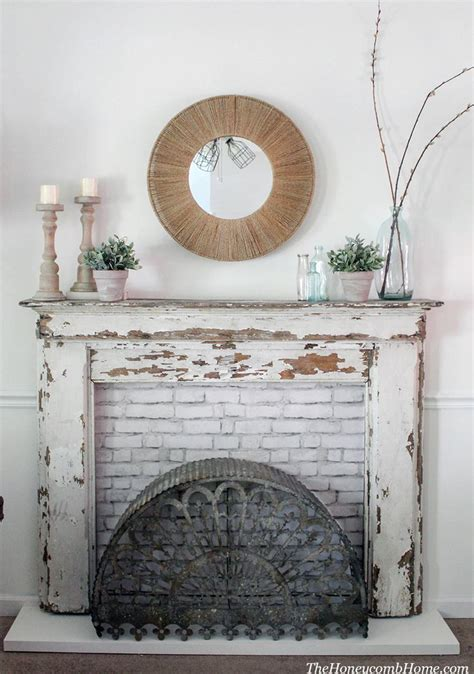 Diy Rustic Fireplace Mantels And Surrounds
