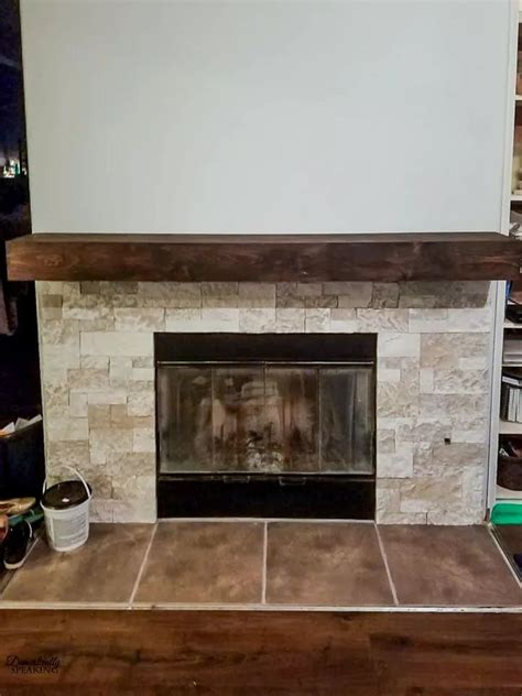 Diy Rustic Fireplace Mantels Handcrafted