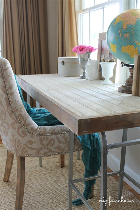 Diy Rustic Industrial Desk