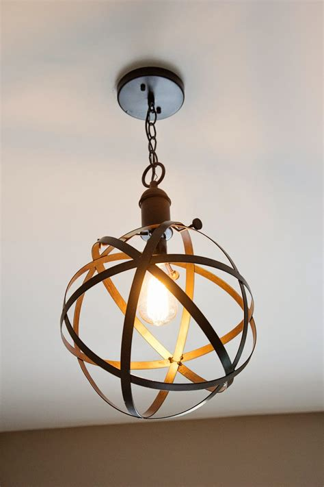 Diy Rustic Industrial Pendant Light