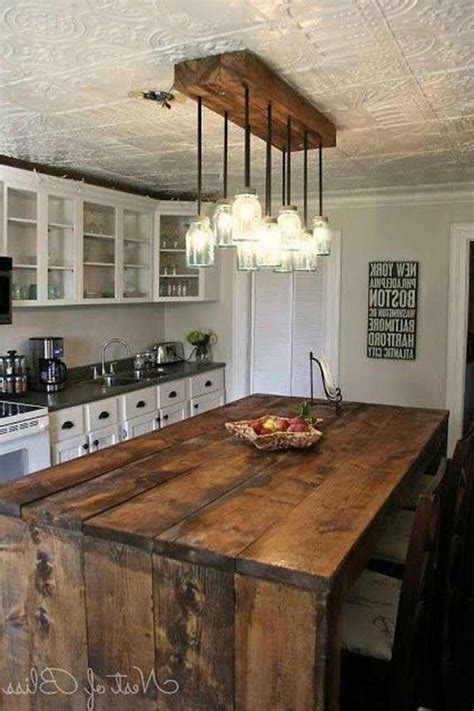 Diy Rustic Kitchen Light