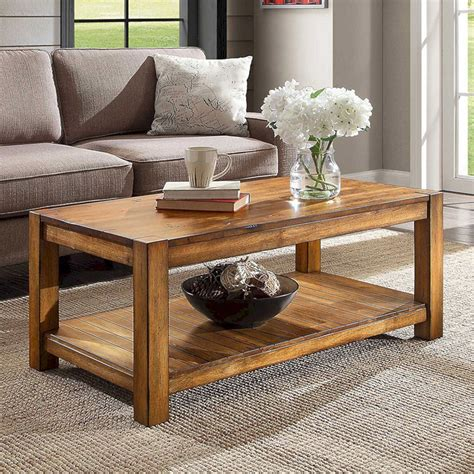 Diy Rustic Modern Coffee Table