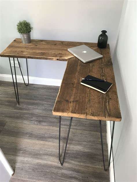 Diy Rustic Modern Desk
