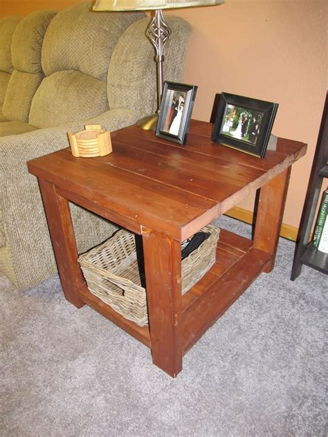 Diy Rustic Occasional Table
