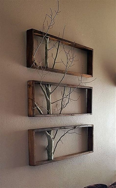 Diy Rustic Pallet Wood Wall Art