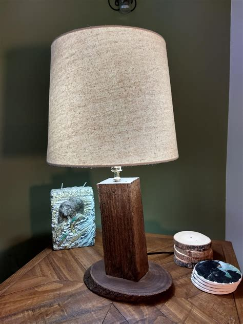 Diy Rustic Table Lamps
