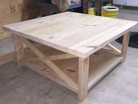 Diy Rustic Table Plans