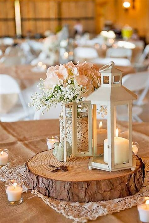 Diy Rustic Wedding Table Decorations